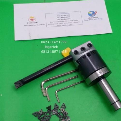 Foto Produk Boring Head C20 F1-12 50 Insert Kepala Korter Holder Boring Milling dari Teknikloak