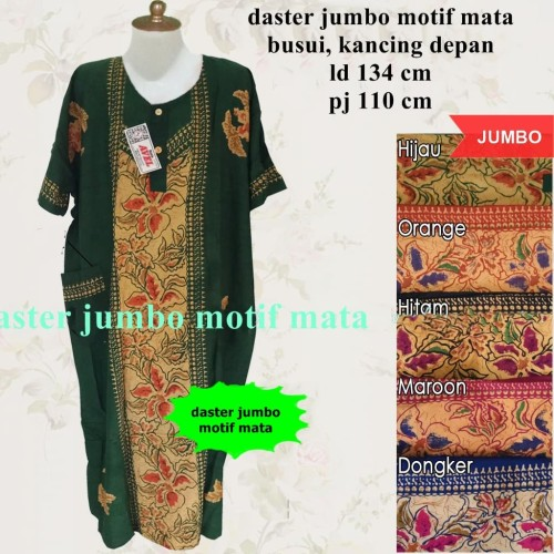 Foto Produk Daster batik ibu jumbo mata busui dari grosir murah solo
