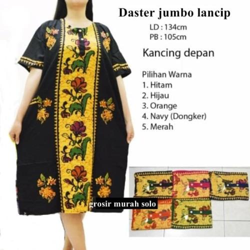 Foto Produk Daster batik ibu jumbo lancip busui dari grosir murah solo
