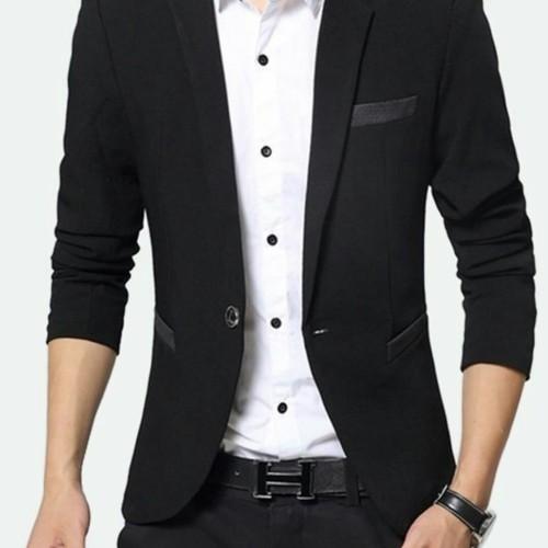 Foto Produk jaz blazer pria blazer cowok jaz kerja jaz formal jaz nikah jaz santai - Gambar Satu, M dari JASA KAWAN