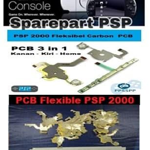 Foto Produk PCB 3 in 1 PSP 2000 Fleksibel Flexibel Karbon Carbon PSP dari exxengame