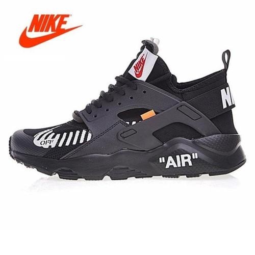 Sepatu Nike Huarache X Off White Ultra Black Premium Quality