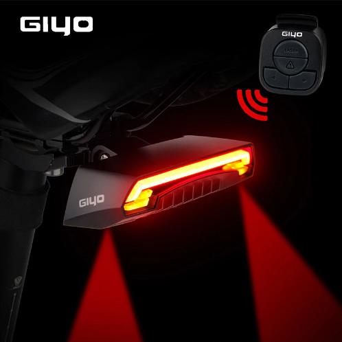 Foto Produk Lampu Laser Sepeda Giyo USB Rechargeable LED Cycling dari TentangOutdoor