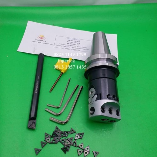 Foto Produk Boring Head BT40 F1-12 50 Insert Kepala Korter Holder Boring Milling dari Teknikloak