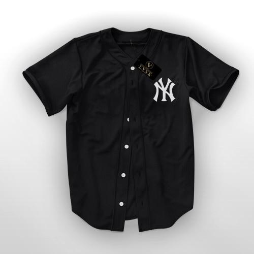 Foto Produk KAOS BASEBALL NEW YORK - JERSEY BASEBALL NEW YORK dari clothshop bandung