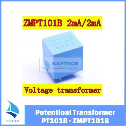 Foto Produk Potentioal Transformer PT101B - ZMPT101B - Trafo Mini dari RAFTECH