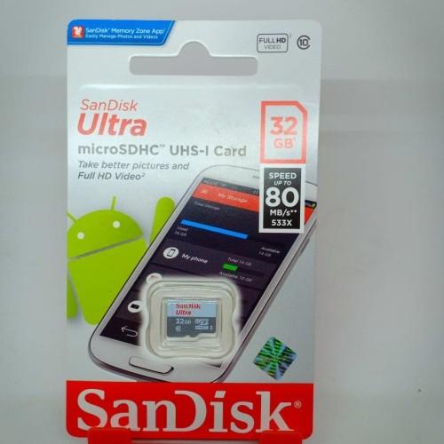 Foto Produk memory card SanDisk 32GB ORY dijamin muat - Putih dari jhonny cell