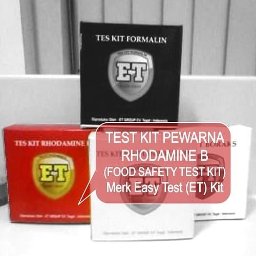 Foto Produk Test Kit Pewarna Merah - Testkit RODA mine - Teskit Tes Cepat Pangan dari ERDUA Business