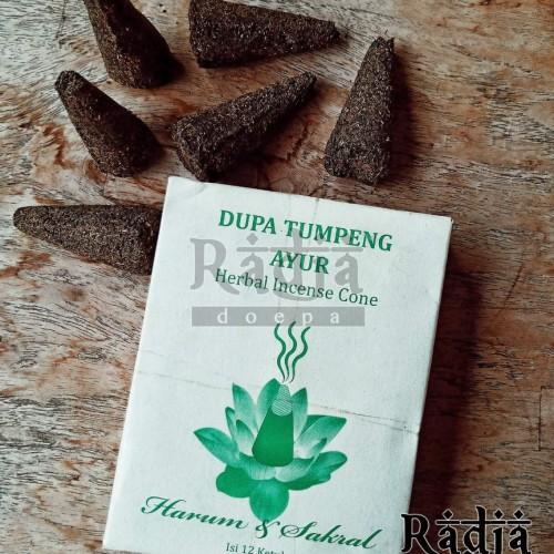 Foto Produk Dupa Tumpeng Gaharu Herbal Kemenyan dari Radja Doepa
