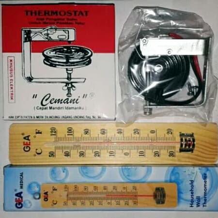 Foto Produk Thermostat Cemani dan Thermometer Plus dari Asri Celluler