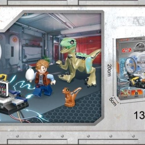 Foto Produk 77048 Lego Dinosaur Velociraptor Blue Jurassic World Dinosaurus dari Wil Toys