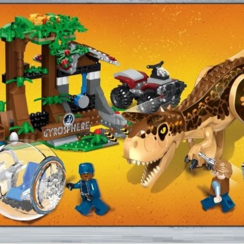 Foto Produk 77047 Lego Dinosaurus Jurassic World Carnotaurus Gyrosphere Escape dari Wil Toys