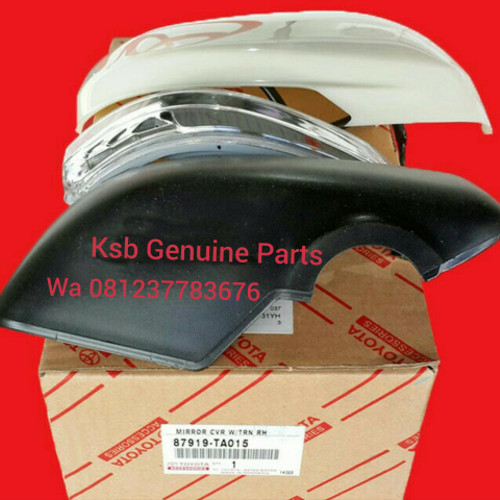 Foto Produk Cover Spion All New Avanza Veloz, Xenia, Agya, Ayla dari KSB Genuine Parts