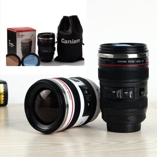 Foto Produk Gelas Mug Lensa Kamera Canon EF 24-105mm - Hitam dari BABAMU
