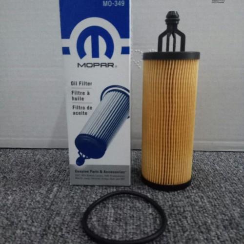 Foto Produk Saringan Oli JK / Oil Filter Mopar 3.0cc/3.6cc For Jeep JK 2014+ dari PIONIR JEEP