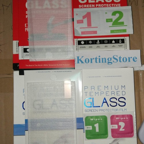 Foto Produk TEMPERED GLASS 9H XIAOMI REDMI 5|5 PLUS|MI NOTE 3|OPPO F5|VIVO V7|Y69 dari KortingStore