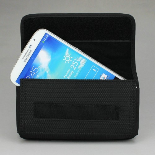 Foto Produk Horizontal Nylon Pouch Case Waist Bag Belt Clip/Loop Phone Under 6.3'' dari Electric Prime