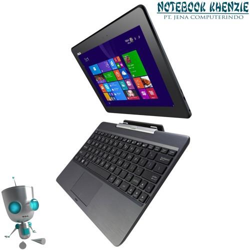 """Foto Produk ASUS T100TA DK005H Z3740 2GB 500GB+32GB eMMc 10.1"""" WIN 8.1 ORI - Abu-abu dari NOTEBOOK KHENZIE"""