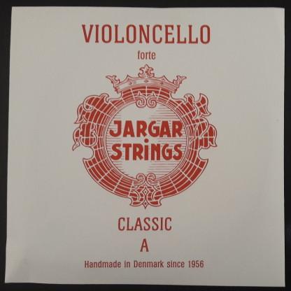 Foto Produk Jargar Cello A String (BLUE/RED) - Merah dari All 4  Strings