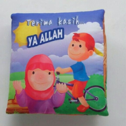 Foto Produk Buku Bantal Kain Softbook Bayi Terima Kasih Allah dari BUKU BANTAL BAYI SBY