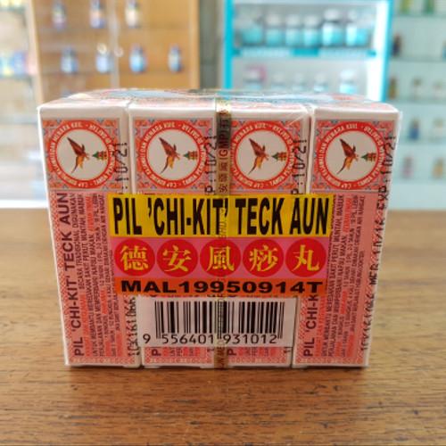 Foto Produk Pil Chi Kit Teck Aun ( Obat Sakit Perut ) Isi 12 dari Toko Obat Panjang Jiwo