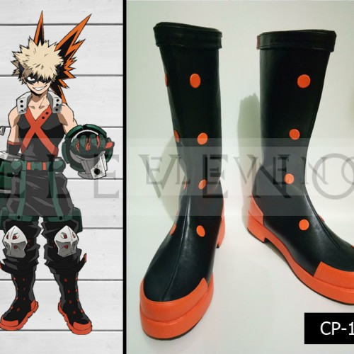 Foto Produk Sepatu Cosplay Boku no Hero Academia Bakugou dari Eleven-O