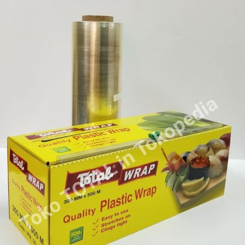 Foto Produk Plastic Wrap Total uk.30 cm x 500 m (PW. 30)Plastik Pembungkus Makanan dari Toko Total