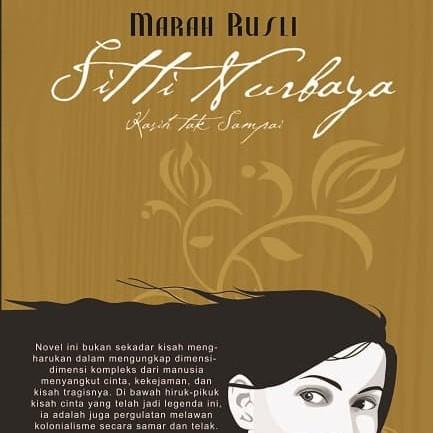 Foto Produk Sitti Nurbaya karya Marah Rusli, Balai Pustaka dari Balai Pustaka