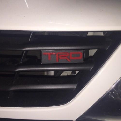 Foto Produk logo TRD emblem untuk grill Fortuner Toyota dari mugensen