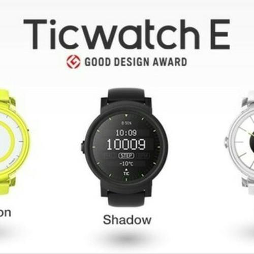 Foto Produk Tic Watch E Express Smartwatch dgn GoogleAssistant dan Denyut Jantung - Putih dari PIK88Elektronik