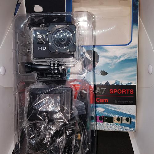 Foto Produk Camera Action Cam A7 Wide HD Waterproof LCD. dari UAV