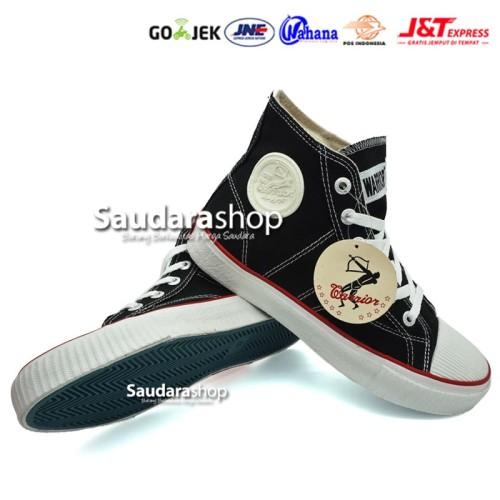 Foto Produk Sepatu Warrior Classic / Sepatu Sekolah Warrior / Sepatu Warrior Hitam dari Saudara Shop