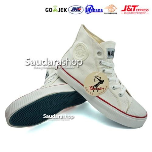 Foto Produk Sepatu Warrior Classic / Sepatu Sekolah Warrior / Sepatu Warrior Putih dari Saudara Shop