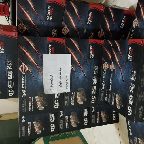 Foto Produk VGA AMD RADEON ASUS R9 285 /R9285 2GB STRIX OC DC2OC-2GD5 dari chandut