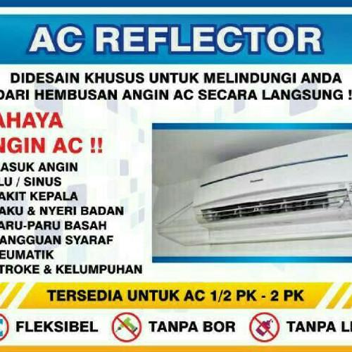 Foto Produk talang ac / reflector ac / penahan ac 2 PK dari Acrylik Shop