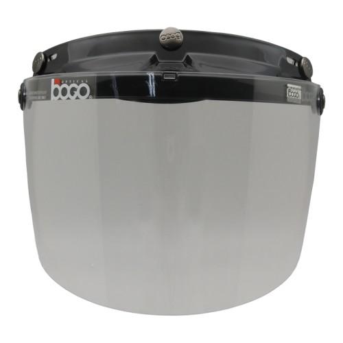 Foto Produk Visor/Kaca Helm Retro Bogo Flat datar Clear Original dari Helm Cargloss