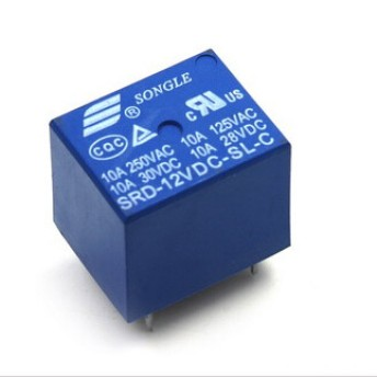 Foto Produk Relay 12VDC 10A 5Pin dari Sonotechno