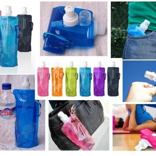 Foto Produk Botol Tempat Minum Lipat Mini Camping Outdoor Freezing Anti Bottle dari lbagstore