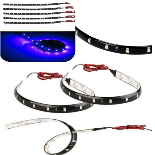 Foto Produk FLEXIBLE LENTUR LED STRIP BIRU 30CM 15 LED WATERPROOF ANTI AIR DC12V dari Anugrah Mentari