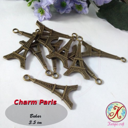 Foto Produk Charm Paris / Menara Eiffel dari Kutique Craft
