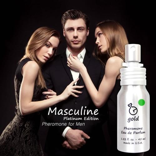 Foto Produk Parfum Pria Pemikat Lawan Jenis (Masculine Gold) dari Gold Pheromone