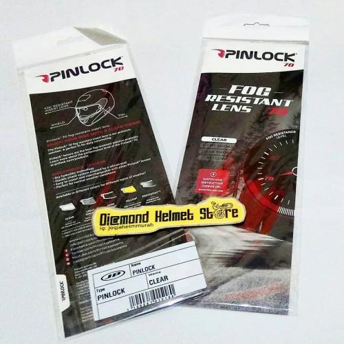 Foto Produk Pinlock Antifog Lensa 70 JPX Storm X 818 dari Diamond Helmet Store
