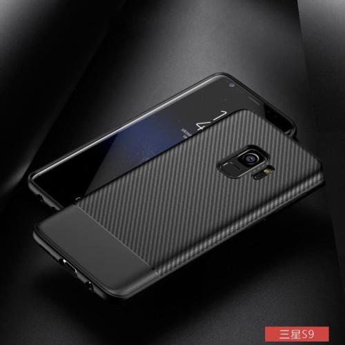 Foto Produk Slim Jelly Carbon Premium Case Samsung S9 Case S9 Plus - Samsung S9 dari Allforgadget