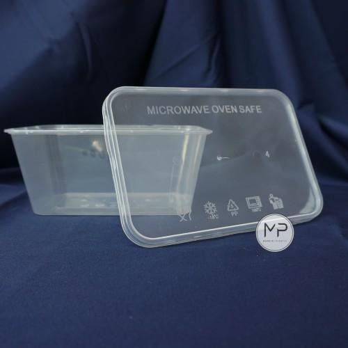Foto Produk Thinwall / Food container makanan / kotak makan 1000ml- ECERAN (10pcs) dari Mandiri Plastik