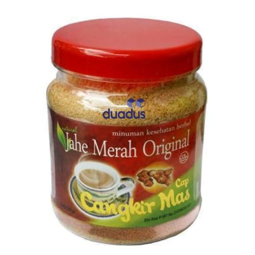 Foto Produk Jahe Merah Original Cap Cangkir Mas Toples - Minuman Kesehatan Herbal dari duadus