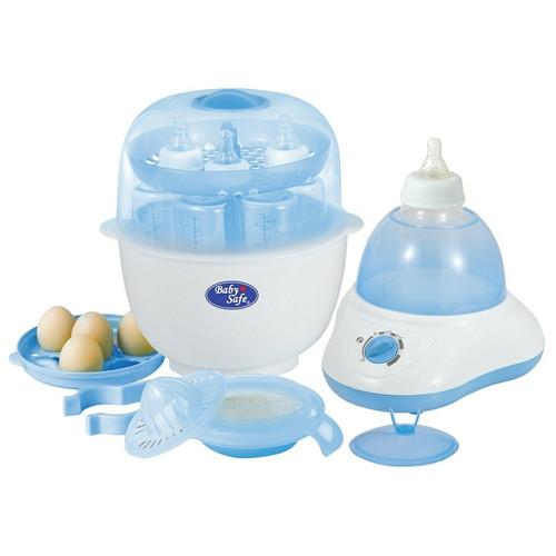 Foto Produk Baby Safe Multifunction Bottle Sterilizer/Alat Steril Penghangat Botol dari Go ASI