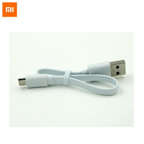 Foto Produk KABEL DATA POWER BANK XIAOMI FAST CHARGING ORIGINAL 100% [ USB MICRO ] dari D'comshop