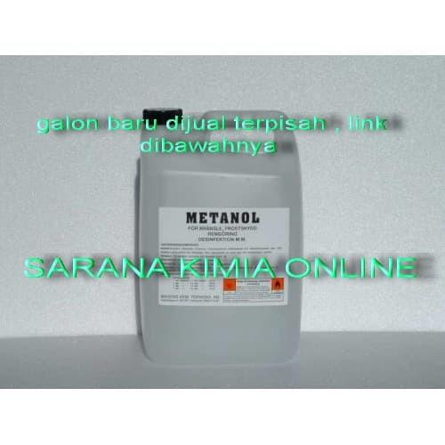 Foto Produk Metanol spirtus 1 liter bahan campuran parfum laundry dari sarana kimia online