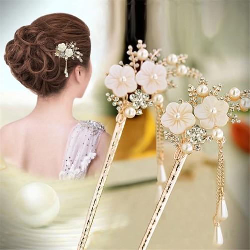 Foto Produk Retro Vintage Bridal Wedding Gift Hairpin Wanita Cantik Pin Rambut A4 dari Amefurashi