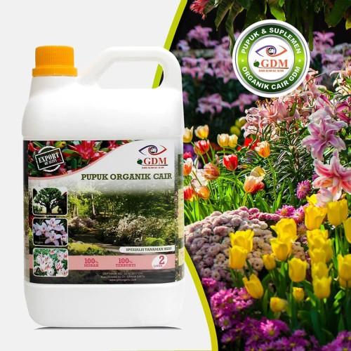 Foto Produk GDM Pupuk Organik Cair untuk Tanaman Hias (kemasan 2 Liter) dari GDM Official Store